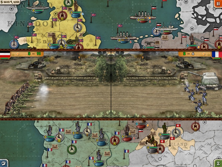 European War 3 Free for iPad