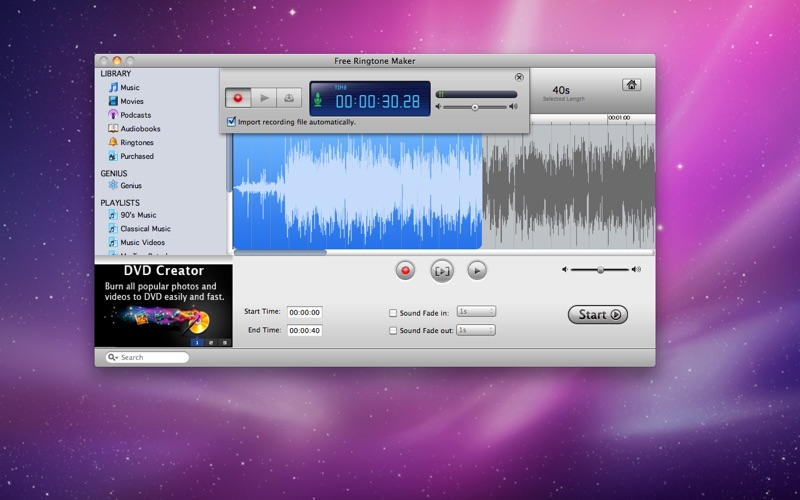 Free Ringtone Maker Screenshot