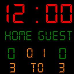 Football Scoreboard Controlled via Bluetooth
