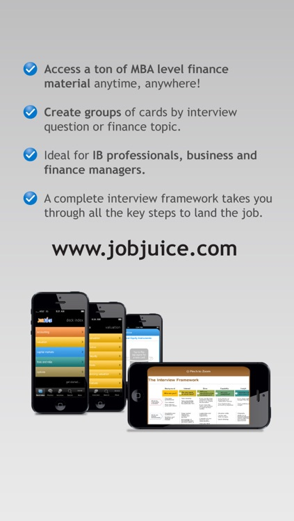 Jobjuice Finance and Investment Banking screenshot-3