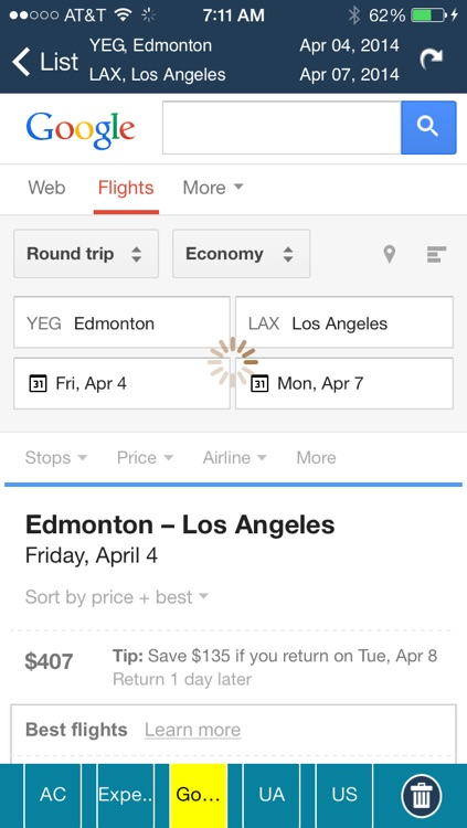 Edmonton Airport+Flight Tracker air YEG Canada screenshot-4