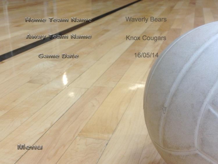 ScoreKeeper - Volleyball