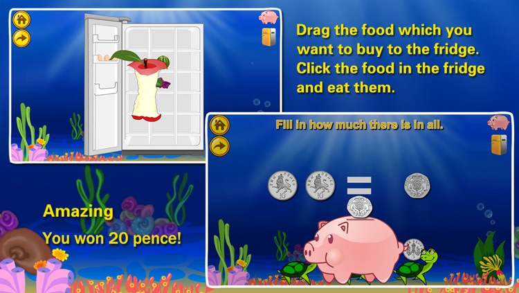 Amazing Coin(GBP£): Educational Money Learning & Counting games for kids screenshot-4