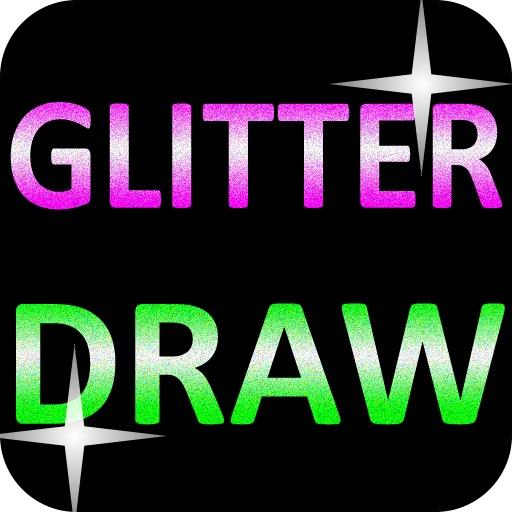GLITTER DRAW!!