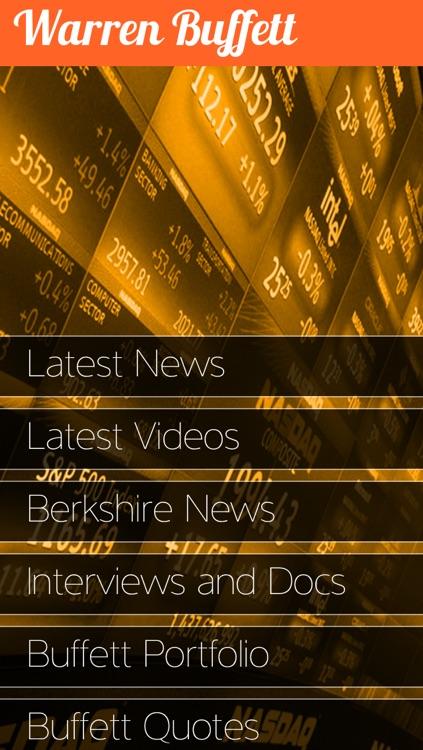 Warren Buffett Tracker screenshot-4