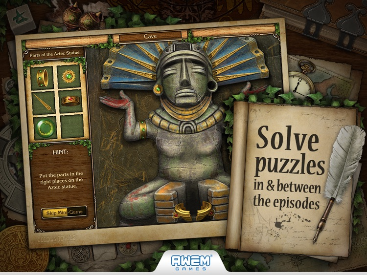 Golden Trails 2: Hidden Object Adventure (Premium) screenshot-2
