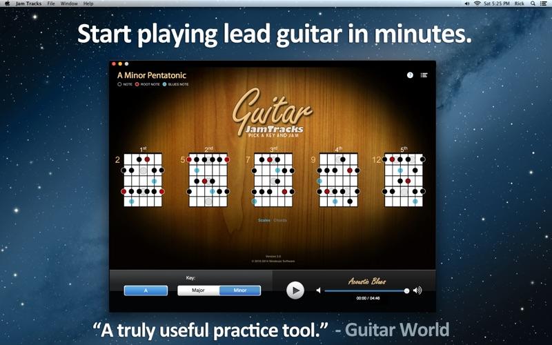 音階教練和練習伙伴 Guitar Jam Tracks