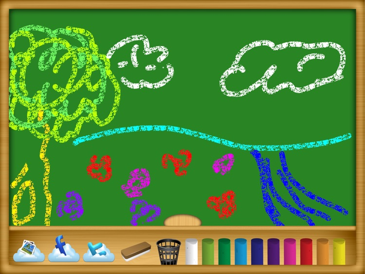 Chalk Board Free screenshot-1