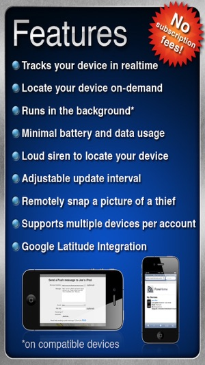 FoneHome - A Phone Tracker to Find and Locate Your Lost or Stolen Device