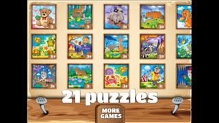 Amusing Kids Puzzles - cute scenes for kids, toddlers and families-4