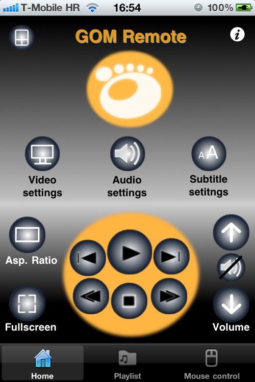 GOM Remote controller