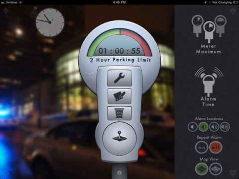 Screenshot #5 for Honk - Find Car, Parking Meter Alarm and Nearby Places