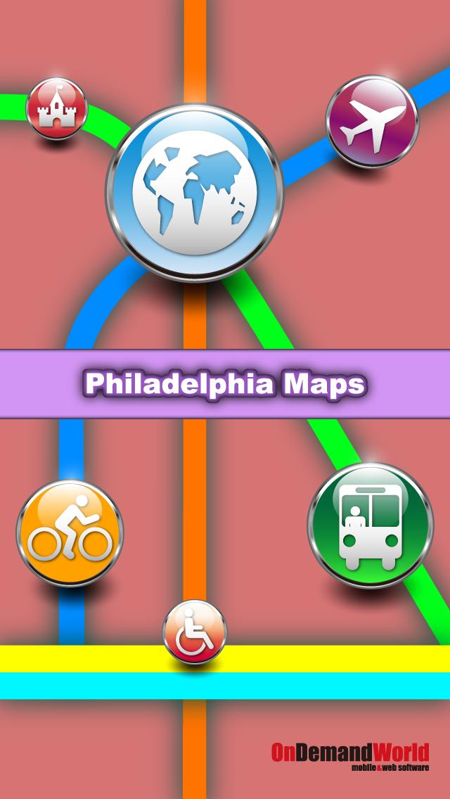 Philadelphia Maps - Download Rail Maps, City Maps and