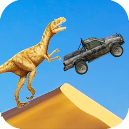 Dino Rampage Off-Road Truck Racing 3D