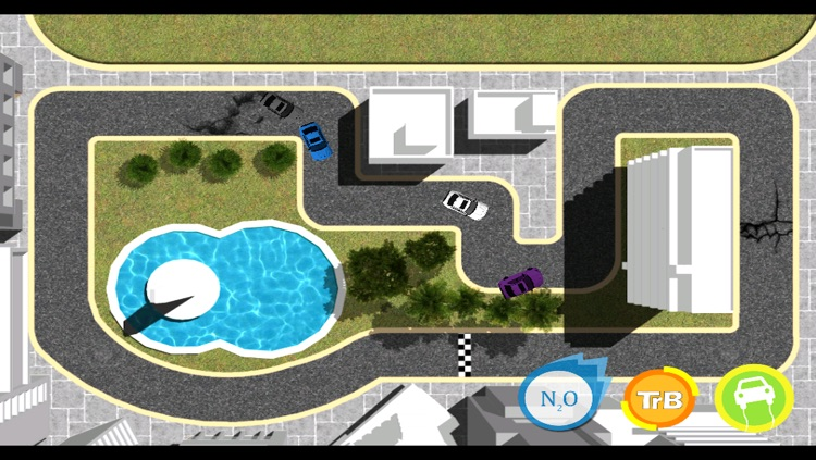 Trace Race - Drag And Draw The Route And Speed Up To The Car Race
