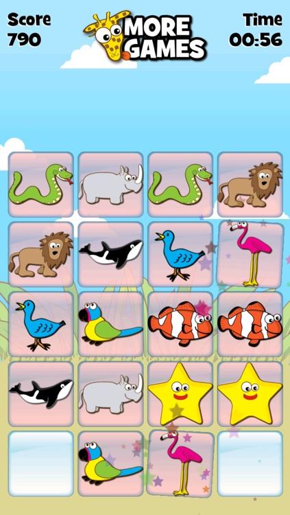 Giraffe's Matching Zoo screenshot-4