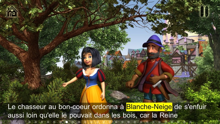 SnowWhite and the 7 Dwarfs - Book & Games (Lite) screenshot-2