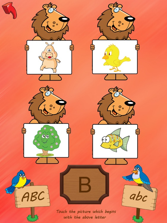 ABC Tracer with words and phonics free - HD screenshot-3