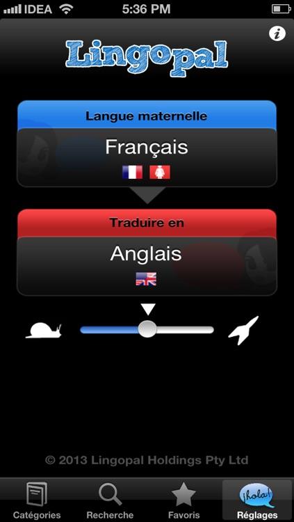 Lingopal English LITE - talking phrasebook