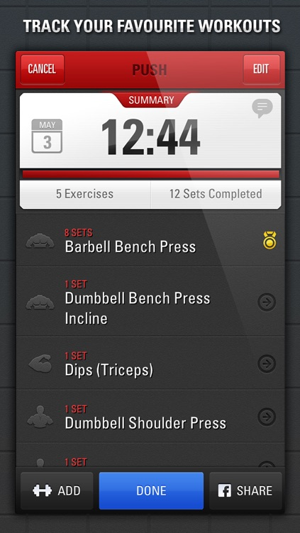 Gym Genius - Workout Tracker:  Log Your Fitness, Exercise & Bodybuilding Routines screenshot-3