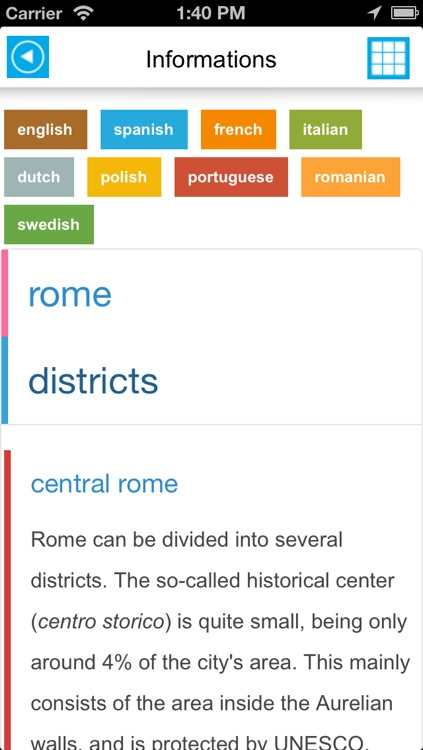 Rome offline map, guide & hotels screenshot-4