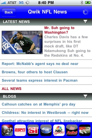 Qwik NFL News screenshot-3