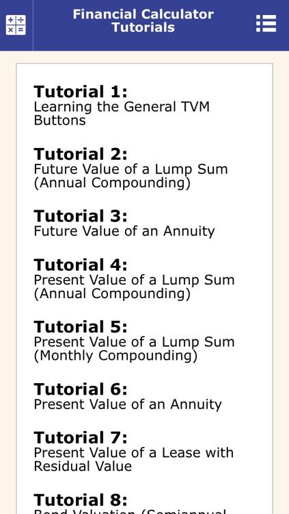 Pearson Financial Calculator screenshot-3