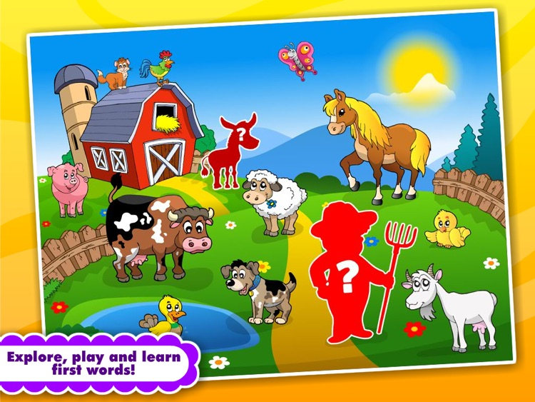 Abby Monkey® Animated Shape Puzzle Builder Deluxe: First Words Learning Game for Toddlers and Preschool Explorers! screenshot-3