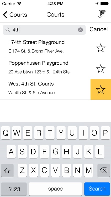 NYC Hoops Map - Basketball Courts in New York City screenshot-3