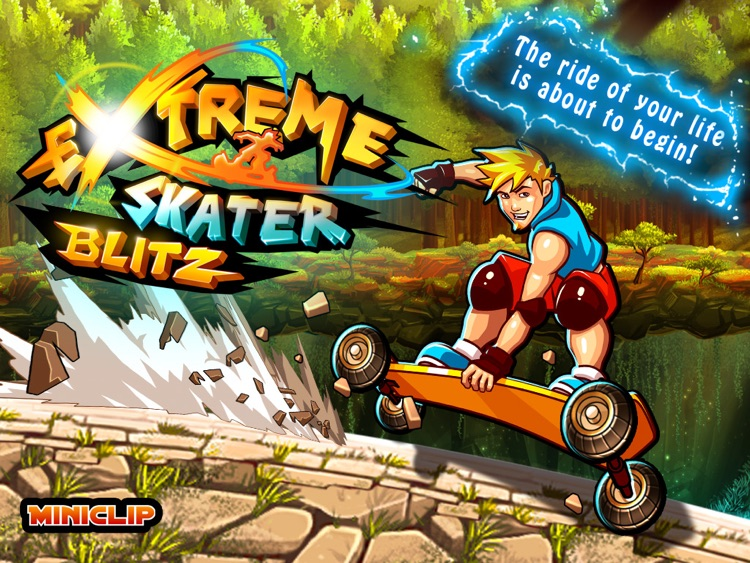 Extreme Skater Blitz HD screenshot-0