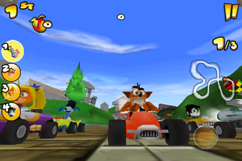 Crash Bandicoot Nitro Kart 2 screenshot 1