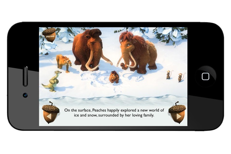 Ice Age Movie Storybook Collection screenshot-4