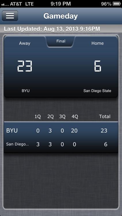 BYU Football Live screenshot-4