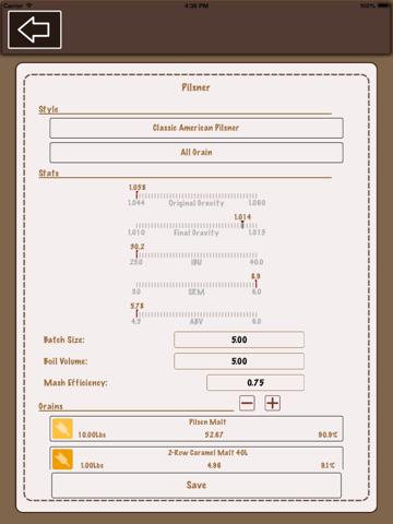 Beer Recipe Calculator Lite App Price Drops