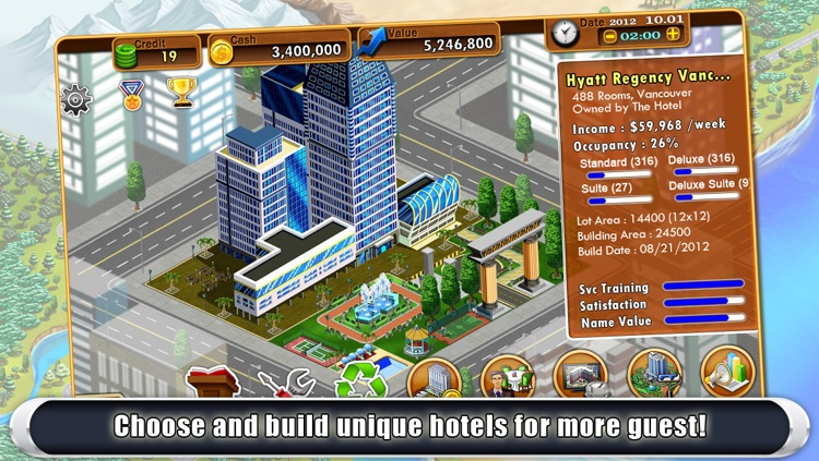 Hotel Tycoon 2 screenshot-3