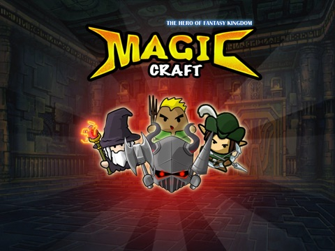 Magic Craft: The Hero of Fantasy Kingdom на iPad