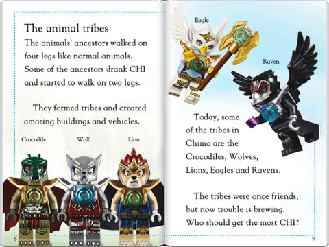 Lego 174 Legends Of Chima Tribes Of Chima Enhanced Edition