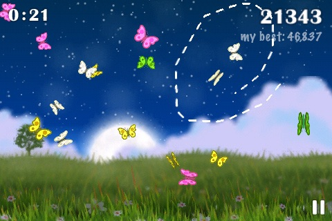 Flyloop: Butterfly Looping Fun screenshot-0