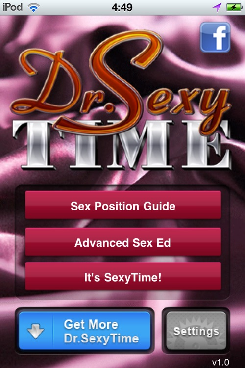 Dr. SexyTime Advanced Sex Guide