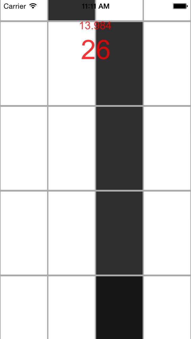 White Tiles- Don't touch white tiles screenshot four
