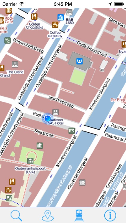 Offline Map Amsterdam - Guide, Attractions and Transport screenshot-4