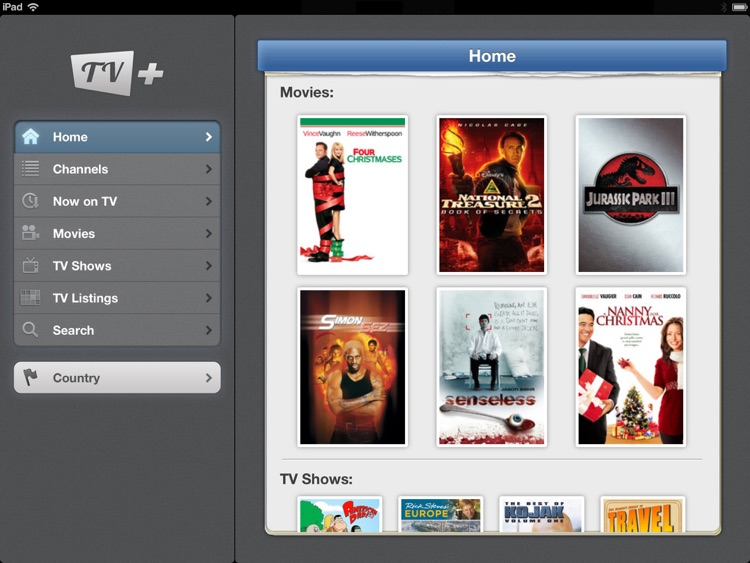 TV+ Guide (iPad edition)