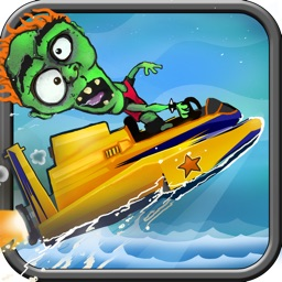 Zombie Jet Speed Boat: Free Multiplayer Fun with Friends - Fast Speed Racing Game for Kids