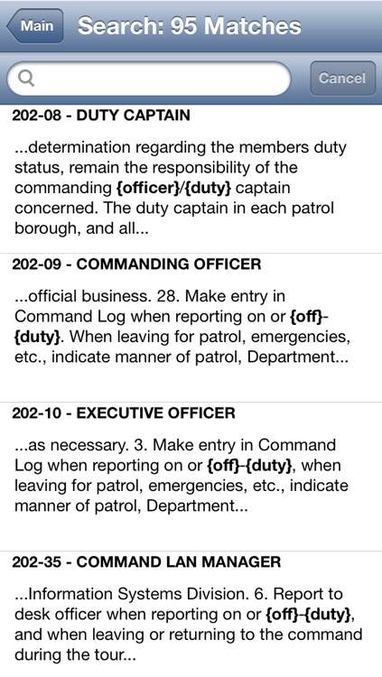 NYPD Patrol Guide 2013 screenshot-1