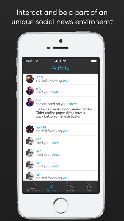 Spark: The Social News Network screenshot-4