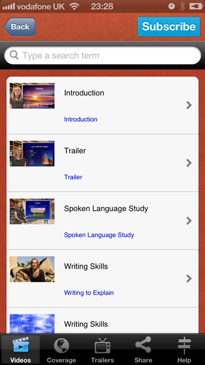 GCSE English Tutor Videos screenshot-1