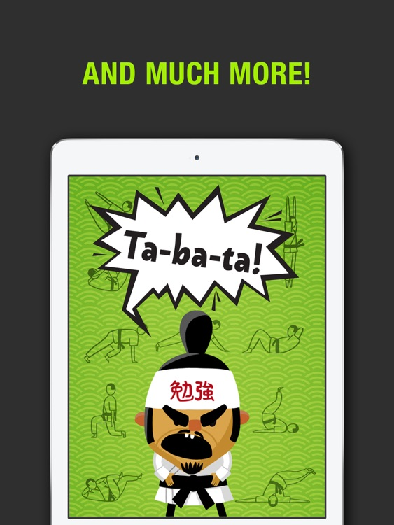 Tabata! HD: 4 Minute Workout Challenge. Burn calories faster than ever! screenshot-4