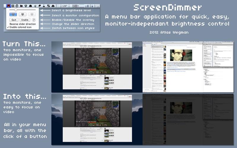 ScreenDimmer скриншот программы 1