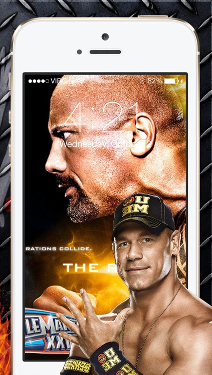 Wallpapers for WWE 2k14 & set lock screen screenshot-4