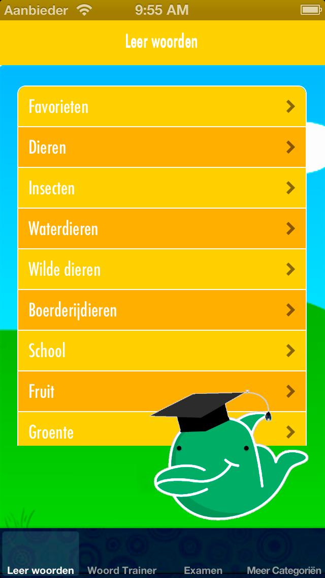 Frans Leren voor Kinderen: Kinder Trainer voor uitspraak en woordenschat - Gratis screenshot one